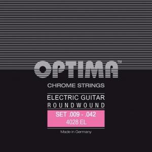 Optima Optima Strings For Electric Guitar Chrome strings round wound H2