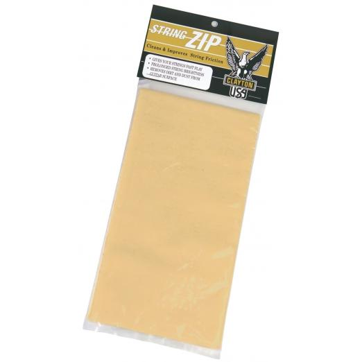 Clayton Guitar Care Product Cleaning Cloth for Strings Cloth for cleaning strings
