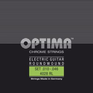 Optima Optima Strings For Electric Guitar Chrome strings round wound E.010