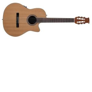 Applause E-Acoustic Classic guitar AB24CII Mid Cutaway Nylon Natural Satin